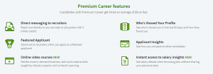 linkedin premium career features