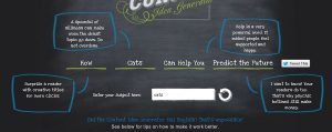 content marketing - content idea generator