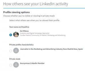 linkedin activity - linkedin faq