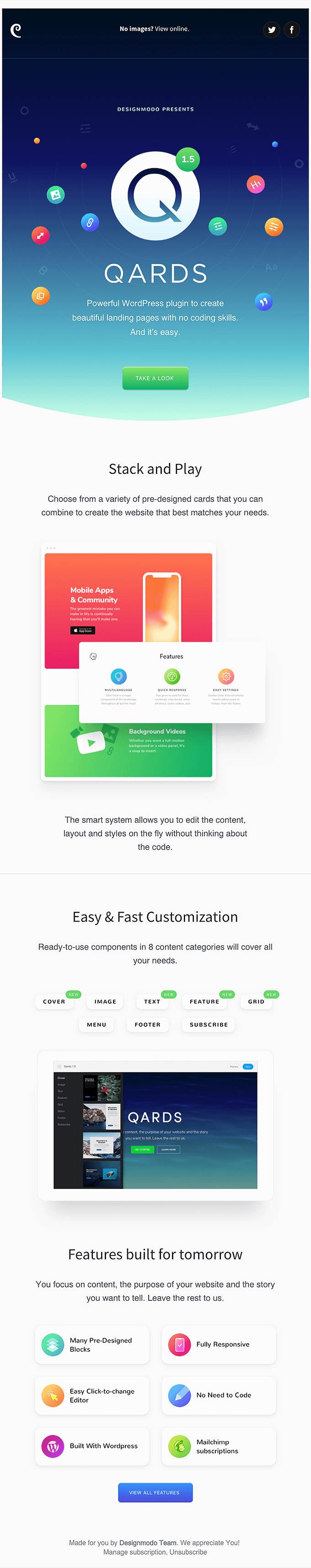 product announcement example