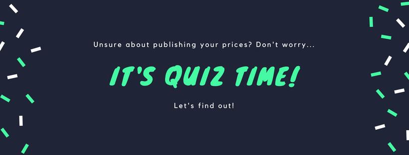 quiz price