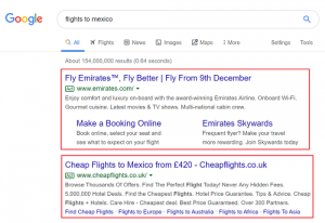 google search ads examples