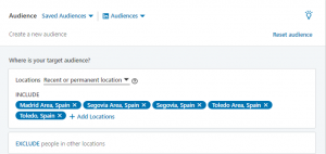 linkedin sponsored content location