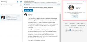 linkedin sponsored inmail ad