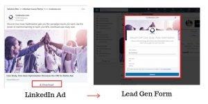 linkedin lead ad
