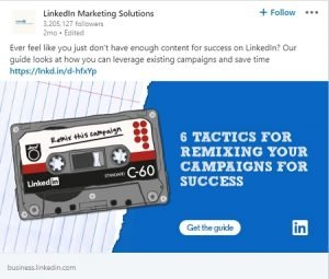 linkedin ad examples