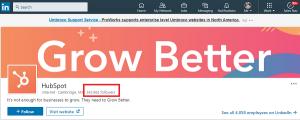 linkedin analytics & linkedin metrics - number of followers