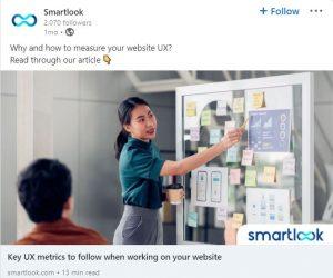 linkedin ad examples - smartlook