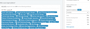 job titles linkedin