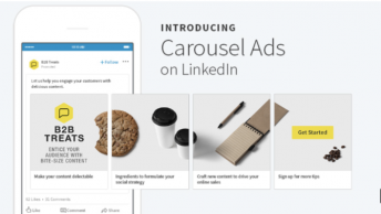 linkedin carousel ad examples