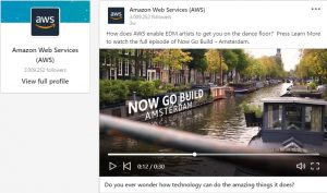 amazon web services video ad