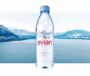 competitive advantage examples - evian water