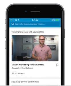 linkedin learning review - mobile app