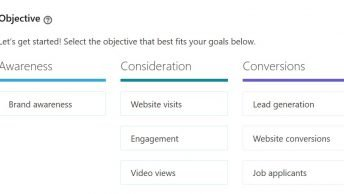 linkedin campaign objectives