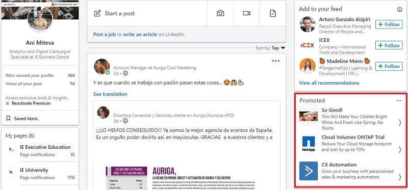 25 LinkedIn Text Ads Examples that are Crushing it