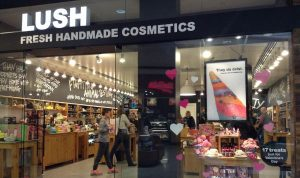 competitive advantage examples - lush