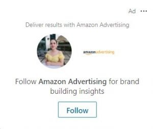 linkedin dynamic ads - follower ads