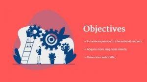 marketing pitch - objectives