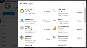 create a linkedin company page - showcase pages