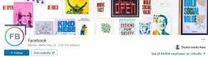 linkedin banner examples - facebook