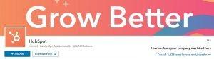 linkedin banner examples - hubspot