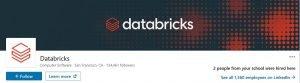 linkedin banner examples - databricks