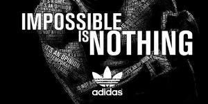 brand slogan - adidas