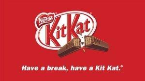 kit kat brand slogan