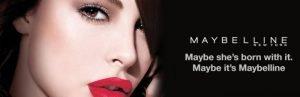 brand slogan - maybelline