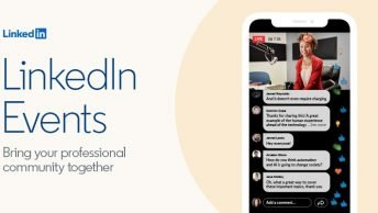 promote linkedin live events