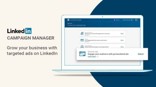 create a linkedin ad account - campaign manager