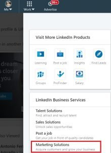 create linkedin ad account