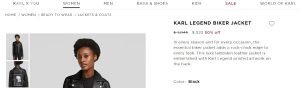 customer experience examples - karl lagerfeld
