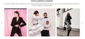 karl lagerfeld lookbook