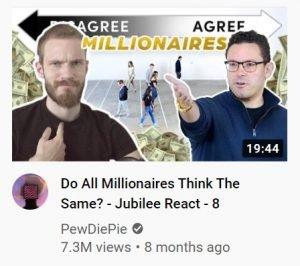 youtube thumbnail examples - piewdiepie