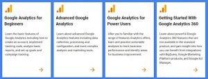 hard digital marketing skills - google analytics