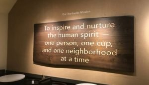 how to write a mission statement - starbucks example