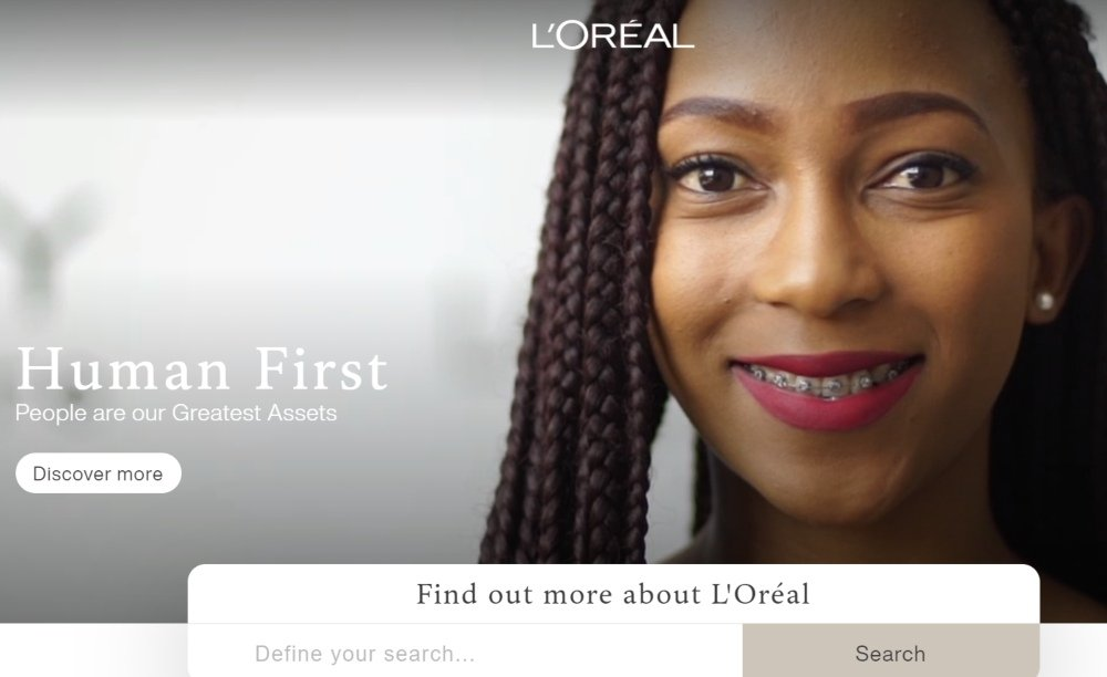 pop up examples - loreal