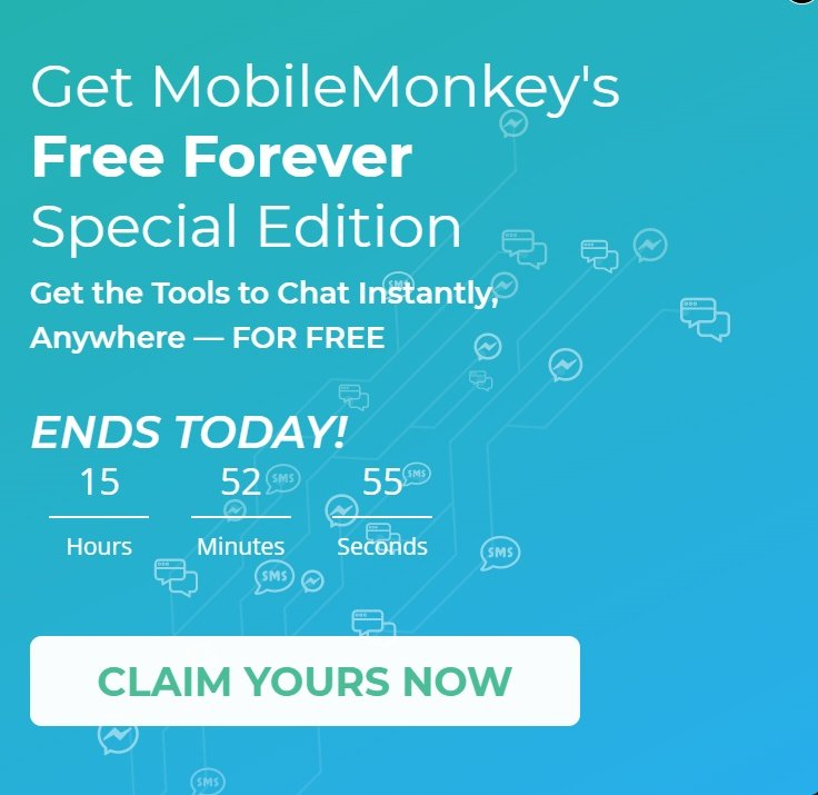 mobile monkey pop up examples