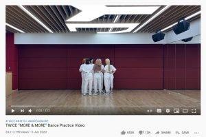 twice dance practice - effective kpop marketing strategies