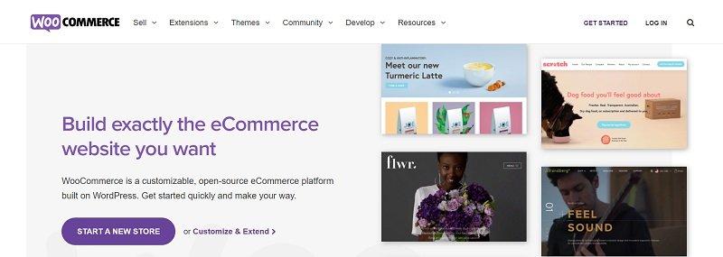 ecommerce platforms - woocommerce